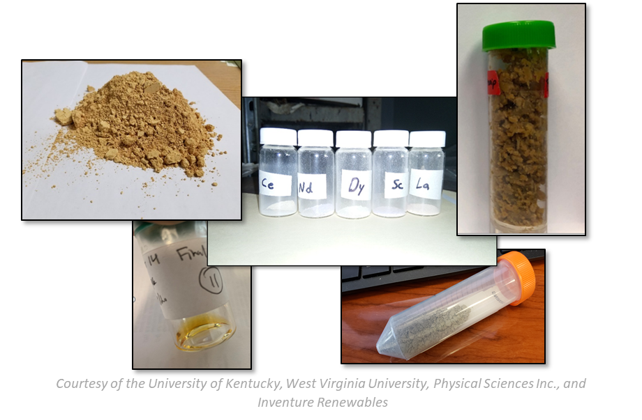 Figure 11 — Mixed Rare Earth Oxides Produced from Coal Refuse, Power Generation Ash and AMD