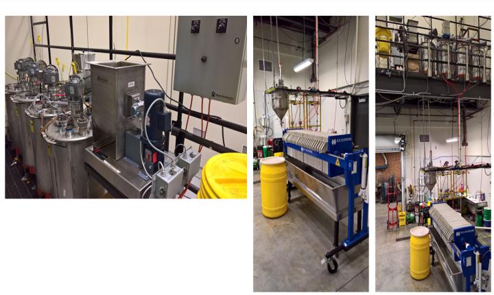 Figure 15 — University of North Dakota's Bench-Scale Rare Earth Extraction Facility