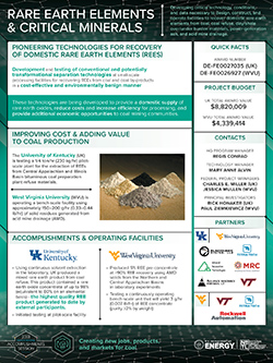 Rare Earth Elements & Critical Minerals