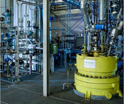 Siemens' Gasification Testing Center at Freiberg, Germany (source: Siemens)
