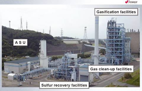Figure 4: View of the 150 tpd EAGLE Pilot Plant Facility  (source: NEDO)