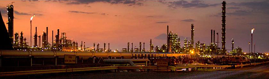 SASOL II and III, Secunda, S. Africa. FTL Facility. source: SASOL