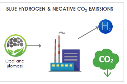 Blue Hydrogen & NEgative CO2 Emissions