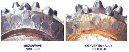Comparison Of Conventionally And Microwave Sintered Wc-Co Drill Parts