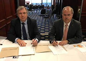 The spirit of collaboration resonates strongly here at NETL, as evidenced by a Memorandum of Understanding (MOU) extension the Laboratory recently executed with the president of the Brazilian Coal Association (BCA).