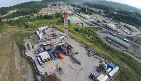 MSEEL test site in the Morgantown Industrial Park
